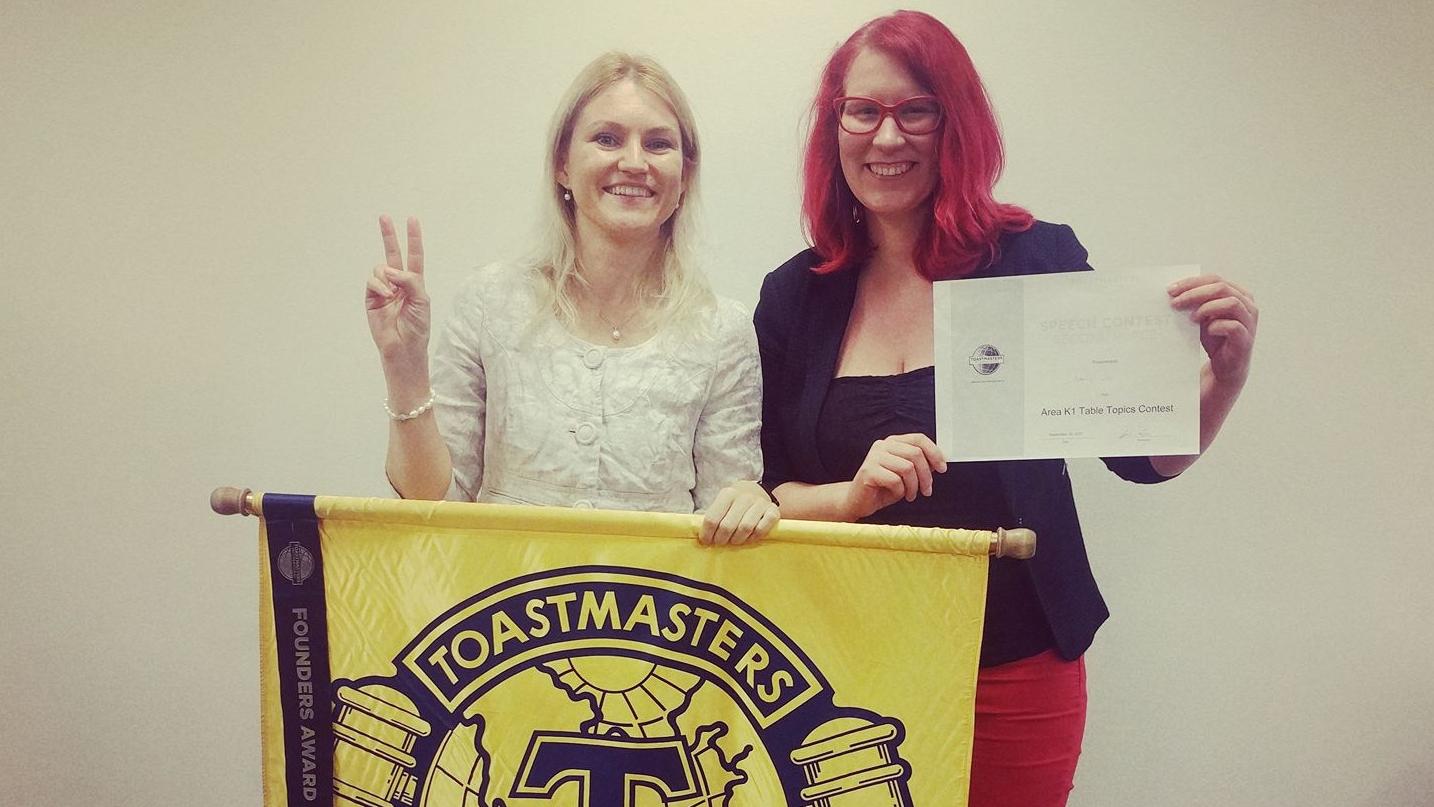 Toastmasters Tallinn flag