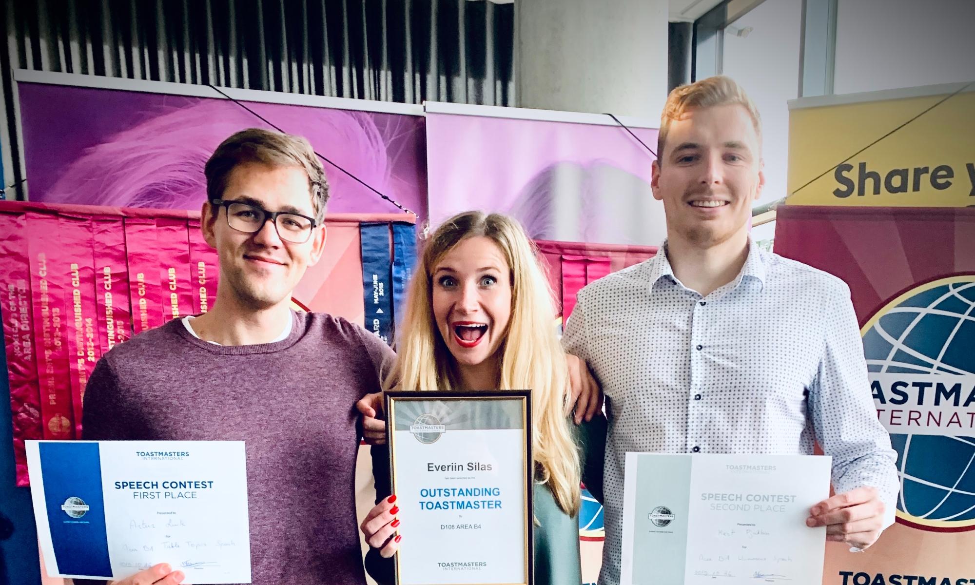 Toastmasters Tallinn contest